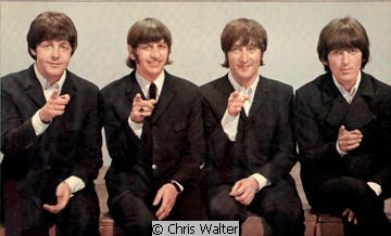 Beatles © Chris Walter at Top of the Pops
