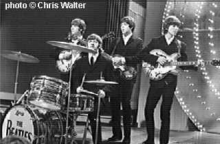Beatles &copy; Chris Walter on Top Of The Pops 1966