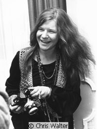 Janis Joplin &copy; Chris Walter