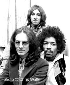 Jimi Hendrix Experience  by © Chris Walter