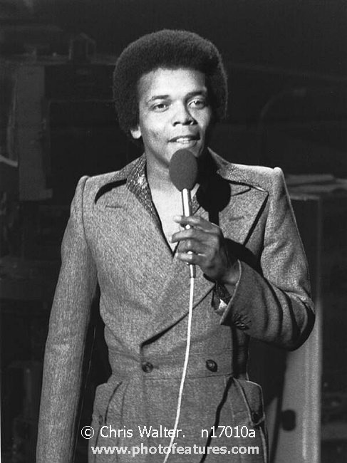 Photo of Johnny Nash by Chris Walter , reference; n17010a,www.photofeatures.com