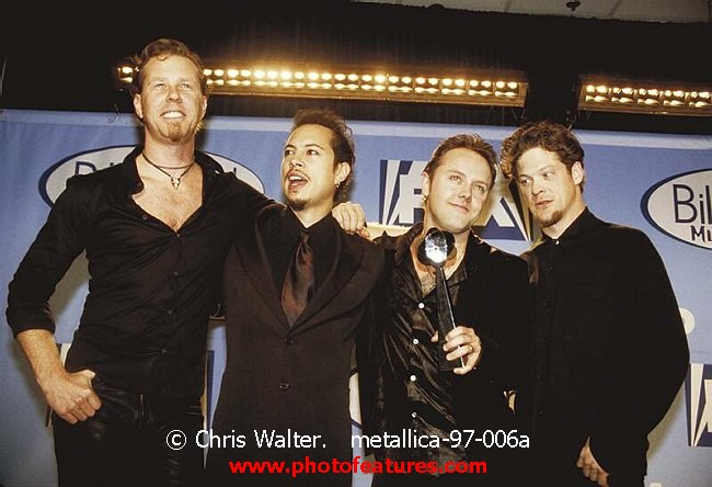 Image Gallery Metallica 1998