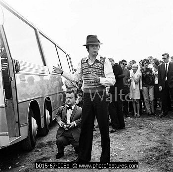 Paul McCartney on Magical Mystery Tour photo © Chris Walter)