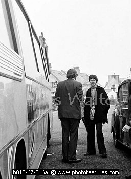 Paul McCartney & Mal Evans on Magical Mystery Tour photo © Chris Walter