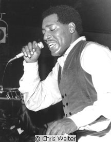 Otis Redding &copy; Chris Walter in a London club