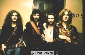 Black Sabbath photo by © Chris Walter